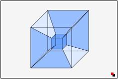 Wie sieht ein 4-dimensionaler Hyperwürfel genau aus