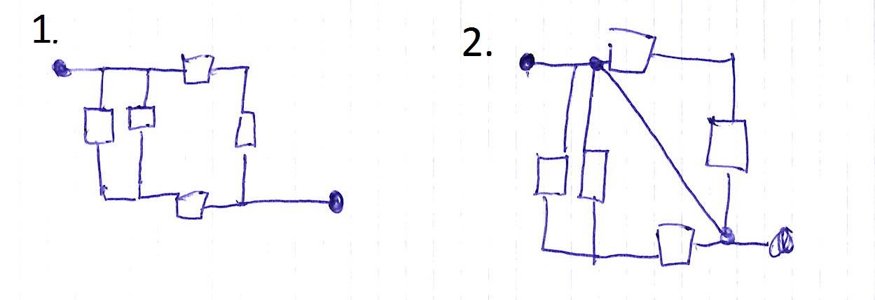 Wie sind folgende elektrotechnische Grundschaltungen zu berechnen ...