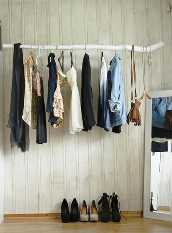 Kleiderstange - (basteln, Handwerk, malen)