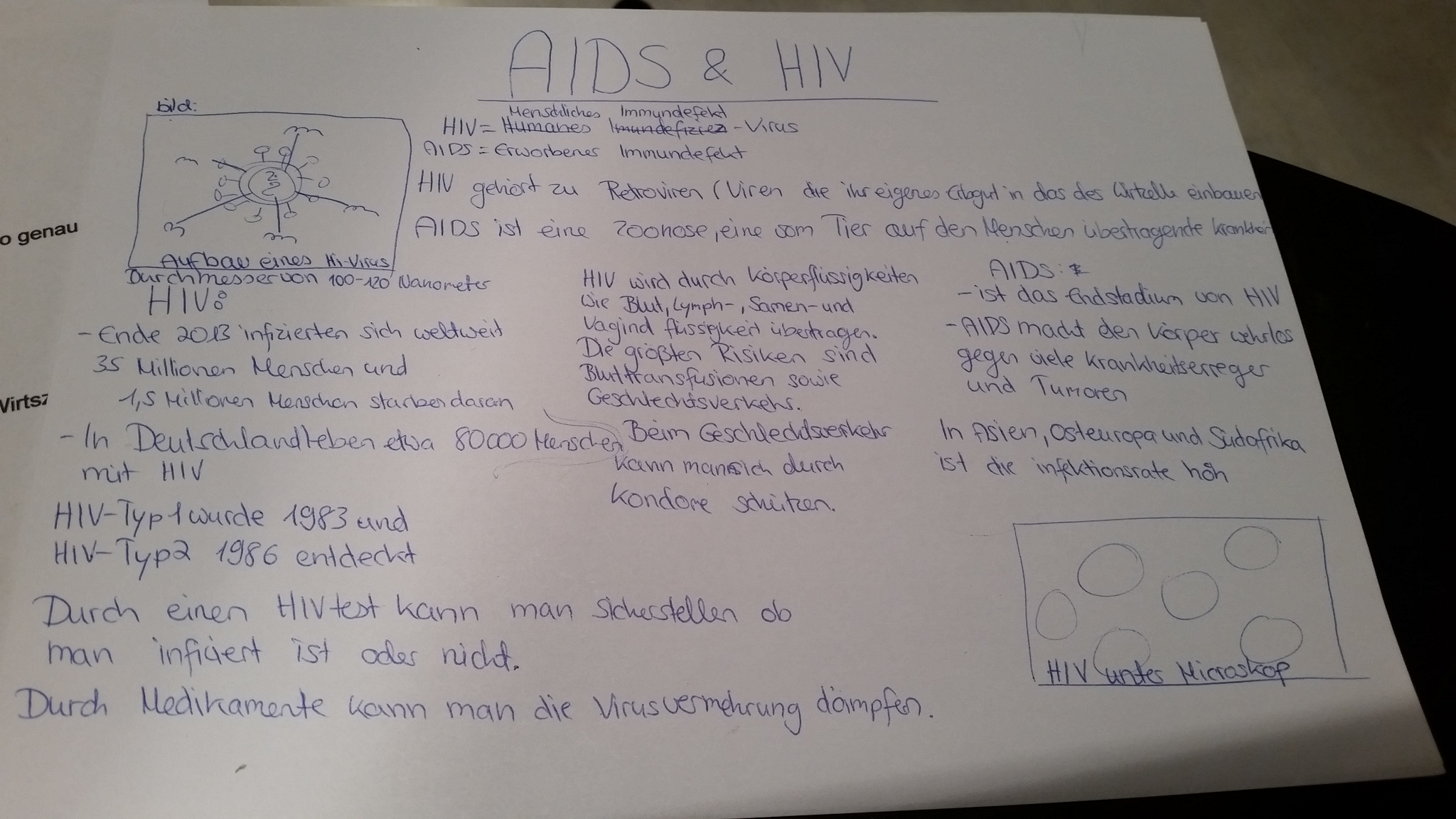 Wie soll ich am besten ein Plakat gestalten zum Thema aids und hiv ?