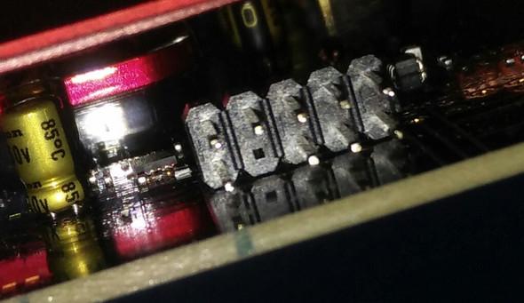 5 Pins, einer frei - (PC, Netzteil, Soundkarte)