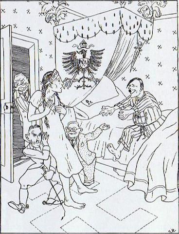 Brautvorführung (Nebelspalter, Februar 1933) - (Psychologie, Geschichte, Analyse)