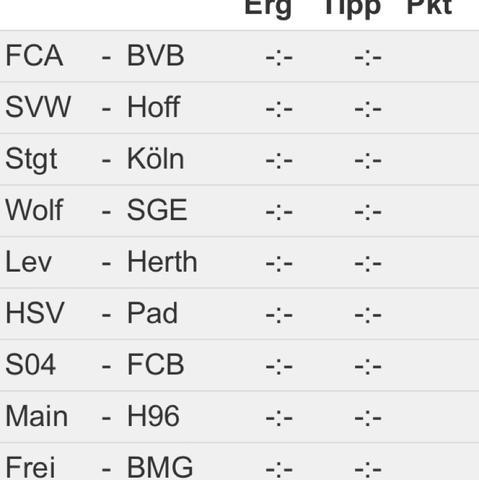 Bundesliga  - (Fußball, Tipps, Bundesliga)