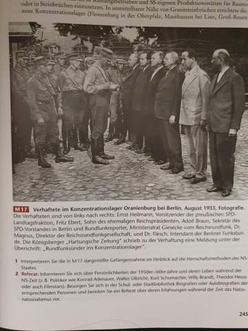Wie soll man dieses Foto im Hinblick auf die Herrschaftsmethoden des Ns Staates interpretieren?