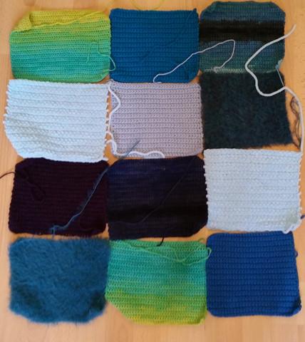 Wie Solle Ich Meine Ungleich Gehäkelten Quadrate Zu Einer Decke