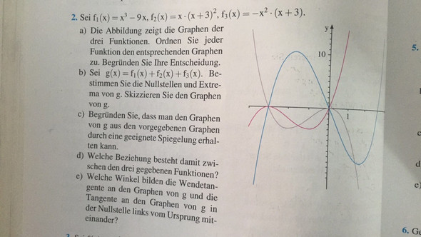 Ab Aufgabe x - (Mathematik, Kurvendiskussion)