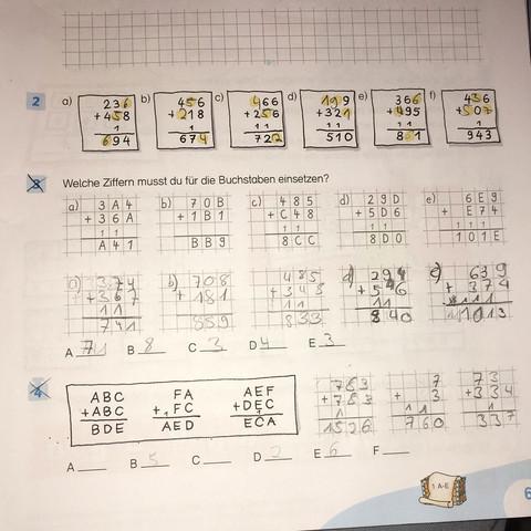 Aufgabe 4 - (Mathe, luecken)