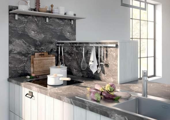 Wie stabil sind Marmor Einbauküchen?