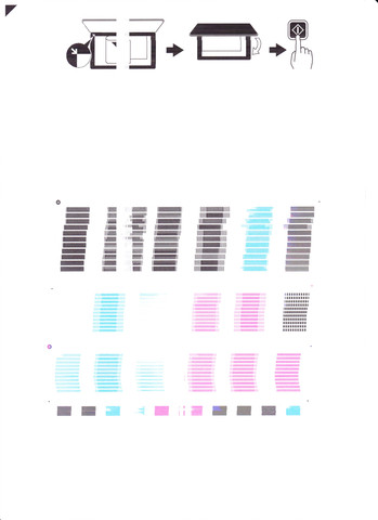 Testdruck - (Drucker, Canon, Ausdruck)