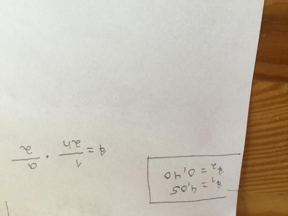 Wie stellt man die Formel nach a um? (Mathe, Mathematik, Zeit)