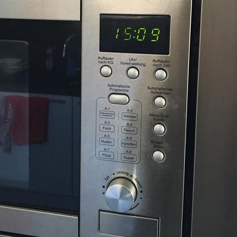 Wie stellt man hier 800watt ein??
