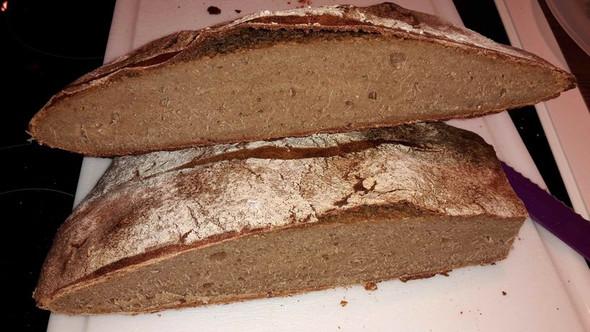 Innenansicht - (backen, Brot, Sauerteig)