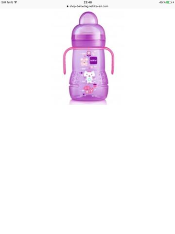 Bekannt Wie sterilisiert man die MAM Trainer Trinkflasche ? (Baby, Flasche) CR18