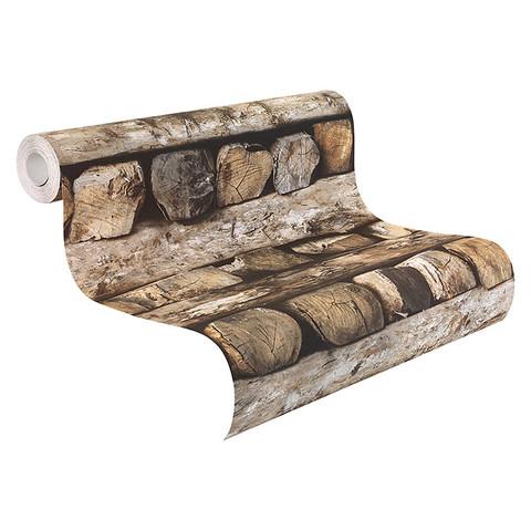 Vliestapete Holzmotiv - (Freizeit, heimwerken, renovieren)
