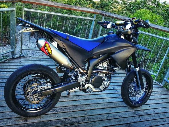 Beispiel 2 - (Motorrad, lackieren, Folieren)