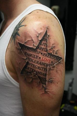 Wie Teuer Ist Im Schnitt Dieses 3d Artige Tattoo Preis