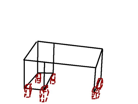 Wie Tisch erhöhen?