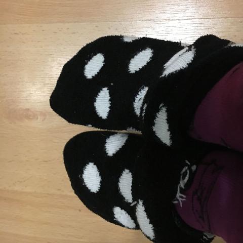Oder Socken darunter - (Beauty, Socken, Kuschelsocken)