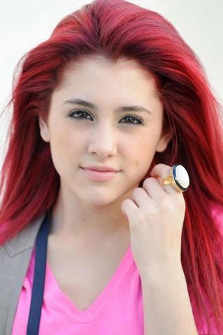 Ariana Grande - (Haare, Mutter, färben)