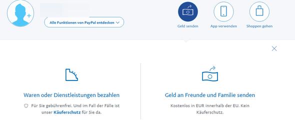 Paypal geld an freunde gesendet zurückholen