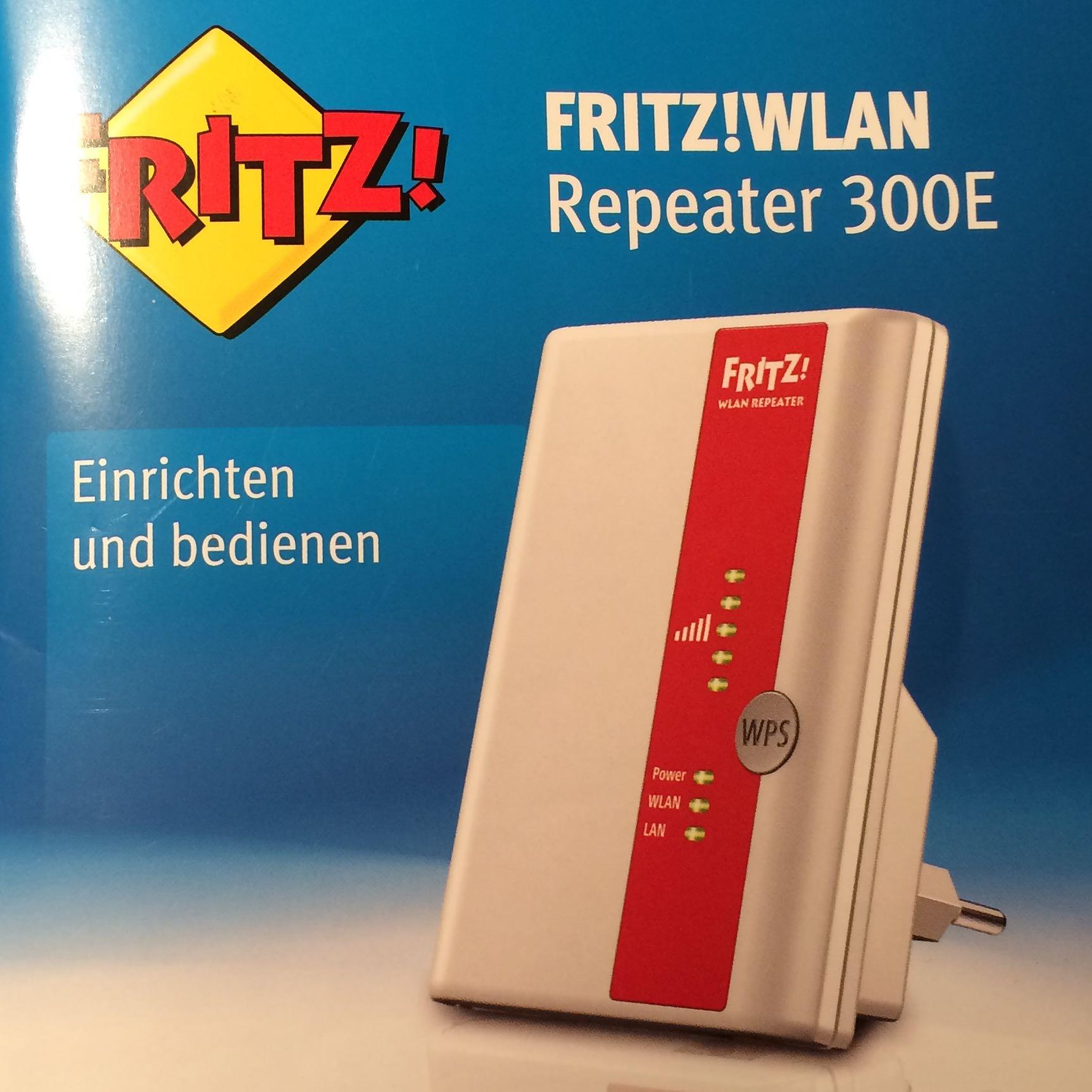 Fritz Repeater 300e Update