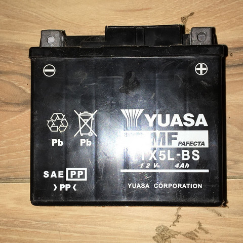 Sieht recht alt aus - (Strom, Batterie)