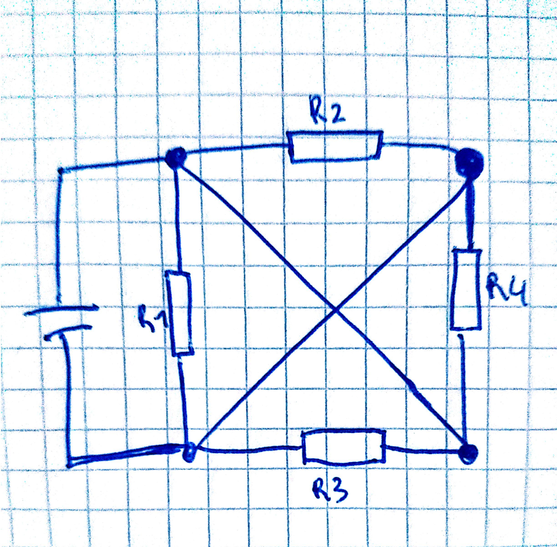 wie vereinfache ich so eine schaltung elektrotechnik ohmen. Black Bedroom Furniture Sets. Home Design Ideas