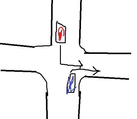 Vorfahrt - (Auto, Führerschein, vorfahrt)