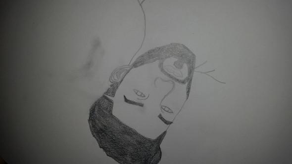 - (zeichnen, Bleistift)