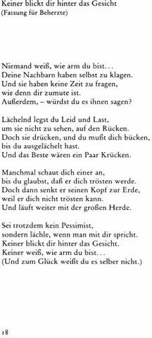 Wie Versteht Ihr Das Gedicht Schule Deutsch Lehrer