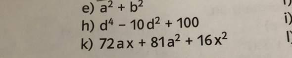 - (Schule, Mathe, Produkte)