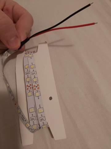 Wie verwendet man diese LED Band?