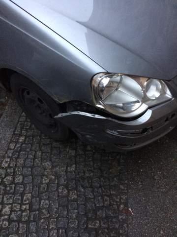 Wie viel € würde die Reparatur kosten Kotflügel?