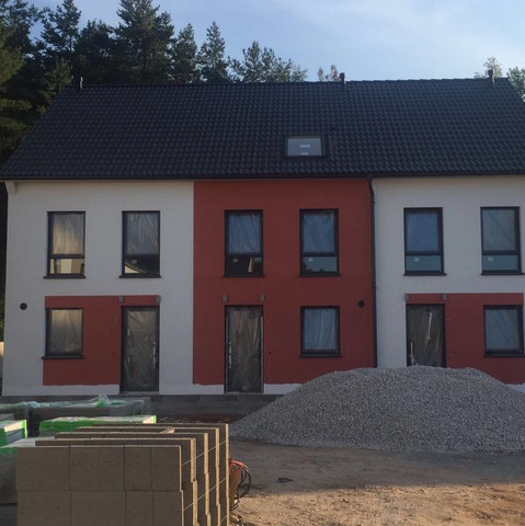 Mittelhaus, Neubau  - (Haus, wohnen, Handwerker)