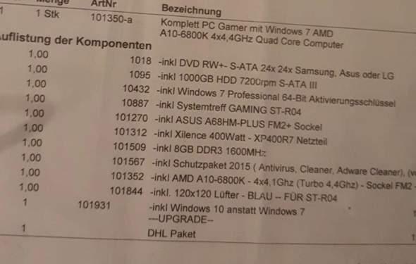 Wie viel Euro ist der PC wert?