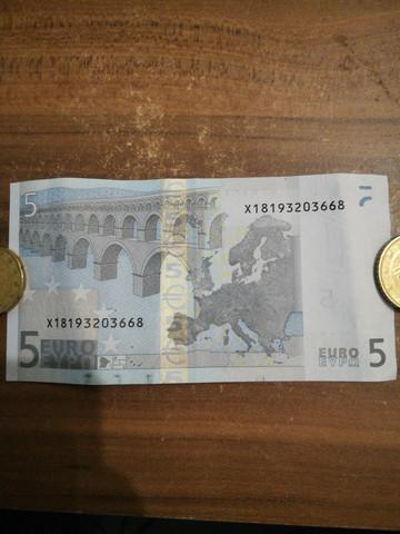 Wie Viel Euro Ist Diese 5 Schein Wert Geld Sammeln Sammler