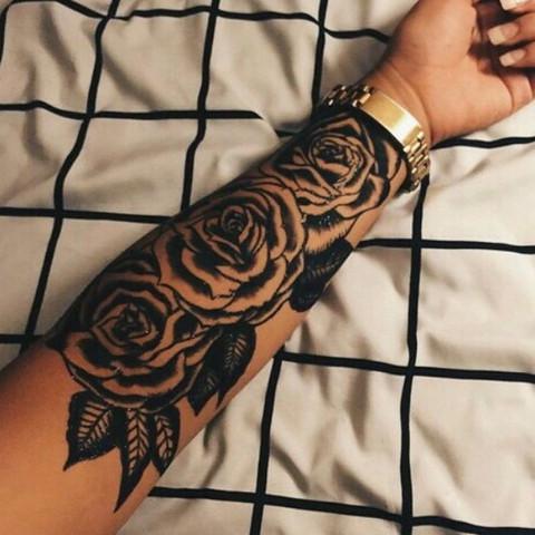 Rosen - (Tattoo, tätowieren, Tätowierung)