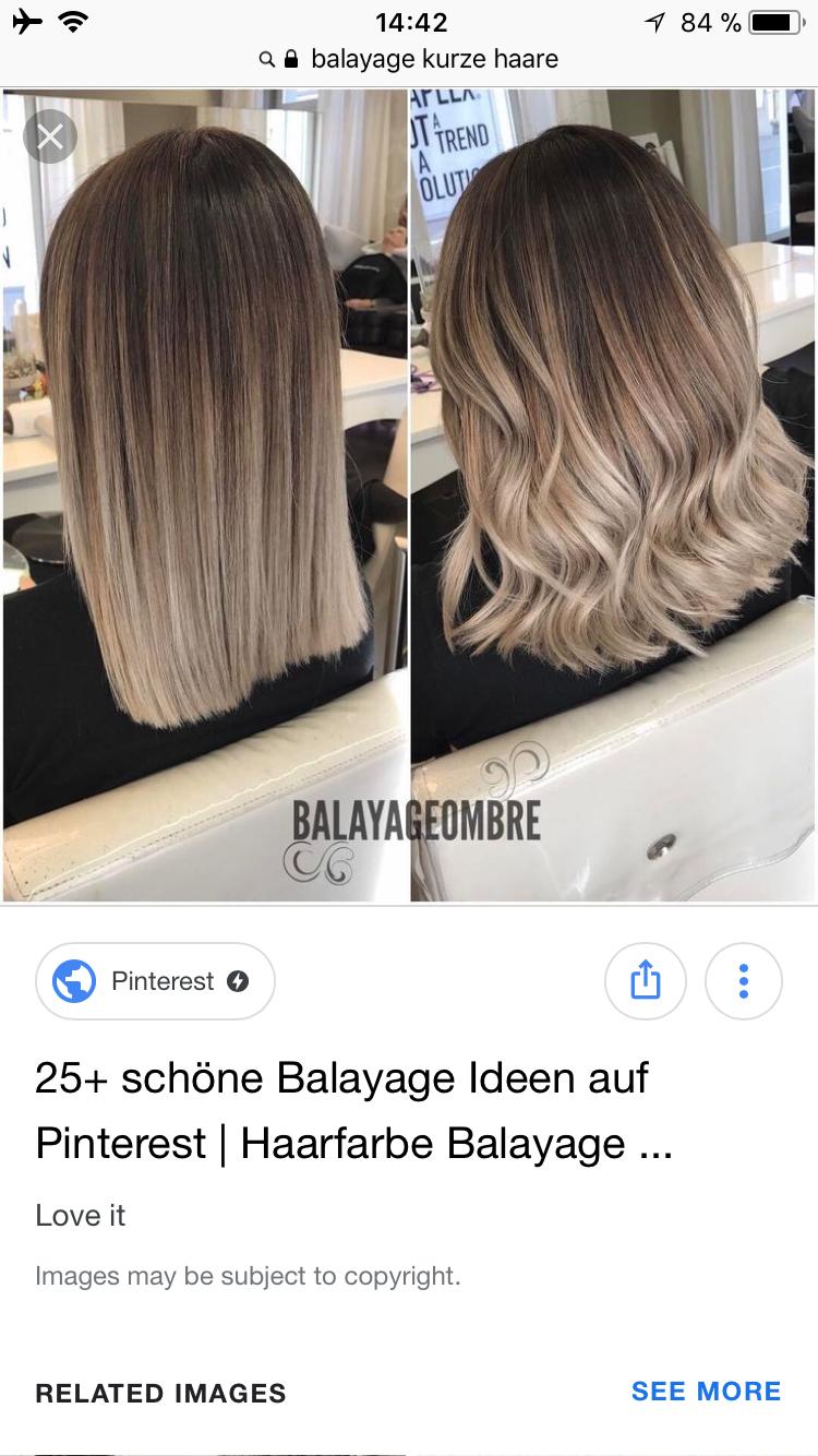 Balayage Kurze Haare Rot Haarschnitte Beliebt In Europa