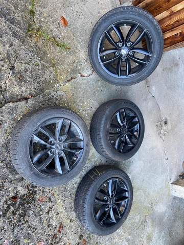 Wie viel haben diese Reifen+Felgen ca Wert?