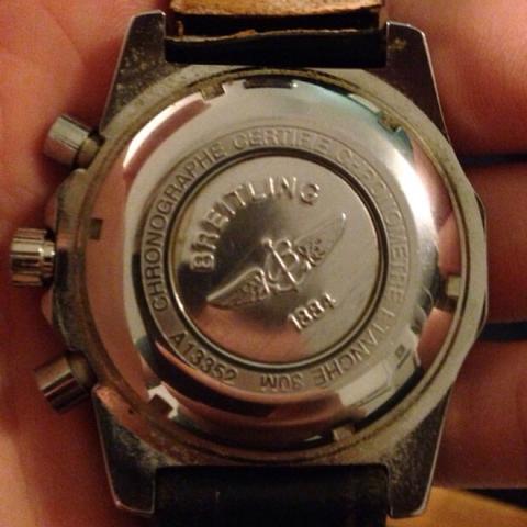 Von Hinten - (Preis, Uhr, Breitling)