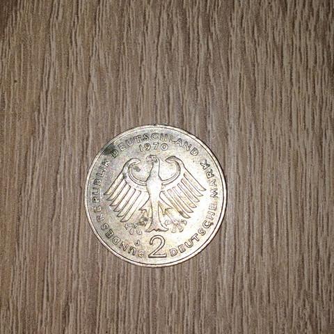 Wie Viel Ist Diese Dm Münze Von 1970 Wert Geld