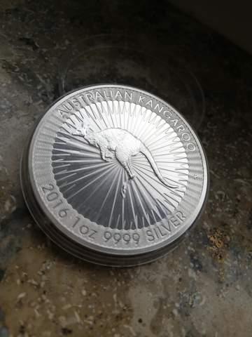Wie viel ist ist diese 1 ozMünze wert?