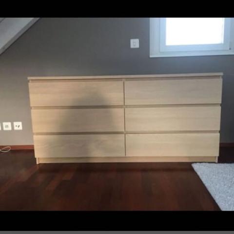 Wie viel Kilo hält diese IKEA Malm Kommode etwa aus?(Im ...