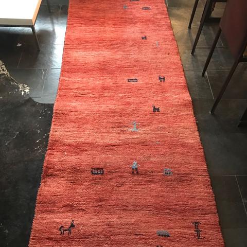 Teppich von oben - (Dekoration, Teppich, Antiquitäten)