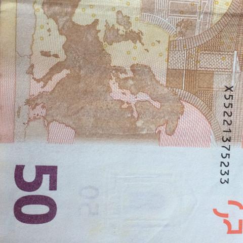 Der 50€ Schein - (Geld, Wert, Euro)