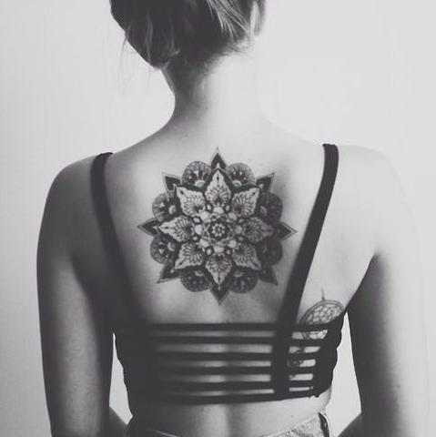 Wie Viel Kostet Ein Mandala Tattoo Frauen Nacken Firsttattoo