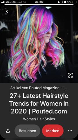 Wie viel kostet es sich diese Frisur zu färben?