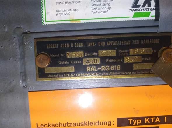 Wie viel Liter Heizöl befindet sich im Tank?