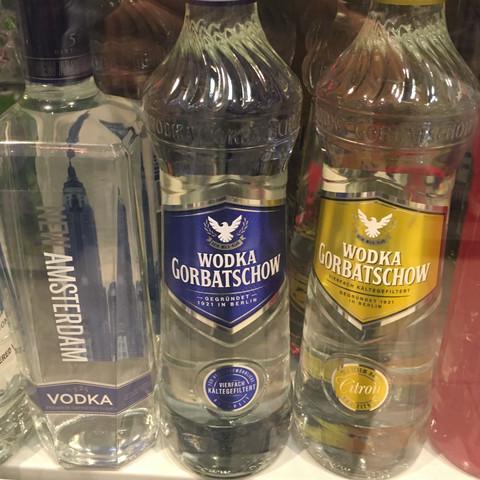 In der mitte - (Freizeit, Alkohol, Vodka)