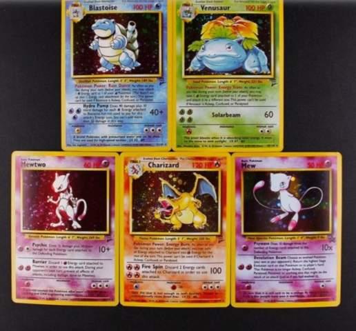 Wie viel sind diese 1st edition 1996 PokemonKarten wert?